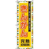 イタミアート きんかん(金柑) 黄 柄 のぼり旗 0100203IN(直送品)