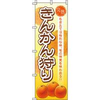 イタミアート きんかん狩り のぼり旗 0100206IN(直送品)