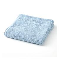 綿パイルハンドタオル中厚手/ブルー