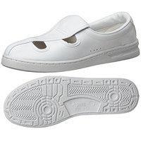ミドリ安全 静電作業靴 エレパス M102 白28.0cm  1足(わけあり品)