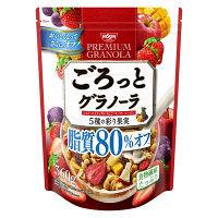 日清シスコ ごろっとグラノーラ 5種の彩り果実 脂質80%オフ 360g 1袋