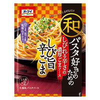 日本製粉 オーマイ 和パスタ好きのための しび旨辛ごま 1セット 8個