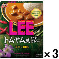 LEEトムヤム風チキンカレー10倍3個