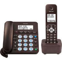 パイオニア デジタルコードレス留守番電話機 子機1台付 ブラウン TF-SA36S(BR)(直送品)