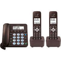 パイオニア デジタルコードレス留守番電話機 子機2台付 ブラウン TF-SA36W(BR)(直送品)