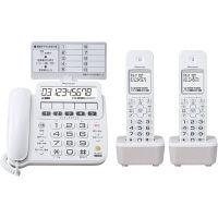 パイオニア デジタルコードレス留守番電話機 子機2台付 ホワイト TF-SE16W(W)(直送品)