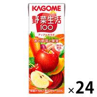 カゴメ 野菜生活100 アップルサラダ 200ml 1箱(24本入)