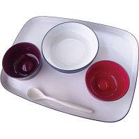 大成樹脂工業 自立支援食器IROHA基本セット オリジナル iroha02 1セット(直送品)