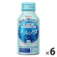ハウスウェルネスフーズ ネルノダ 100ml ボトル缶 1パック(6本)