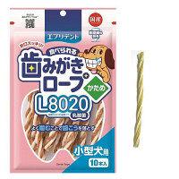 エブリデント 食べられる 歯みがきロープ L8020 乳酸菌 かため 小型犬用 1袋 アース・ペット