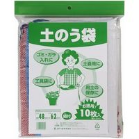 クラーク 収穫袋 2kg(23×34cm) 4989372550763 1セット(100枚入:10個×10枚)(直送品)