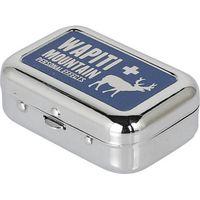 ダルトン 携帯 灰皿 ポータブル アシュトレイ ワピチ WAPITI 幅60×奥行44×高さ21mm K655-757WP 1セット(12台入)(直送品)