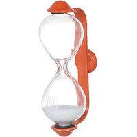 ダルトン 砂時計 サンドグラス バルマ 1分 オレンジ/ホワイト S520-325ORW-1 1セット(6個入) (直送品)