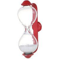 ダルトン 砂時計 サンドグラス バルマ 1分 レッド/ホワイト S520-325RDW-1 1セット(6個入) (直送品)