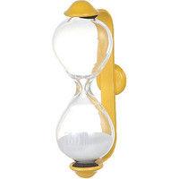 ダルトン 砂時計 サンドグラス バルマ 1分 イエロー/ホワイト S520-325YLW-1 1セット(6個入) (直送品)