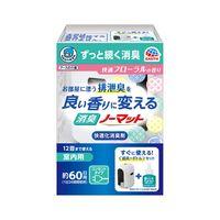 【本体セット】ヘルパータスケ 良い香りに変える 消臭ノーマット 快適フローラルの香り 約60日用 1個 アース製薬