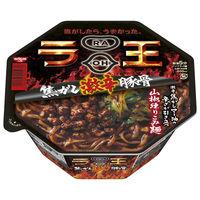 日清食品 日清ラ王 焦がし激辛豚骨 1ケース(12食入)