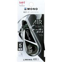 トンボ鉛筆 修正テープモノエアー 5C11 フルブラック CT-CA5C11 1セット(5個)(直送品)
