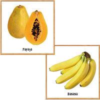 マッチングジャパン フチなし ラミあり フレームステッカー リアル果物『果物_06』 CO-9093-AS 1個(2枚セット)(直送品)