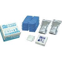 ブレイン 【10年保存】 抗菌非常用トイレ(汚物袋付き)業務用100回 BR-1000 1包(2セット入) (直送品)