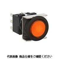 IDEC(アイデック) フラッシュシルエットLBシリーズ 照光押ボタンスイッチ 丸形 アンバー LB6L-M1T54WA(直送品)