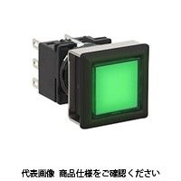 IDEC(アイデック) フラッシュシルエットLBシリーズ 照光押ボタンスイッチ 正角形 緑 LB7L-M1T23WG(直送品)