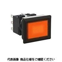 IDEC(アイデック) フラッシュシルエットLBシリーズ 照光押ボタンスイッチ 長角形 アンバー LB8L-M1T11WA(直送品)