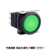 IDEC(アイデック) フラッシュシルエットLBWシリーズ 押ボタンスイッチ 丸形 乳白 LBW6B-M1T5LW(直送品)