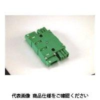 TERADA ハーネスジョイントボックス 2分岐(グリーン) AHJ80002G 1セット(3個)(直送品)