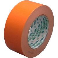 クラフト粘着テープNO.117 50mm×50m オレンジ KS-NO.117-ORE50P 1セット(50巻) 菊水テープ(直送品)
