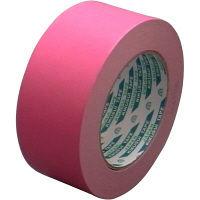 クラフト粘着テープNO.117 50mm×50m ピンク KS-NO.117-PIK50P 1セット(50巻) 菊水テープ(直送品)
