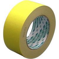 クラフト粘着テープNO.117 50mm×50m 黄 KS-NO.117-YEL50P 1セット(50巻) 菊水テープ(直送品)
