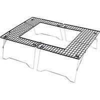 パール金属 キャプテンスタッグ ファイアグリルテーブル M-6420(直送品)