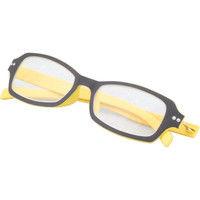 老眼鏡 A弱度〈+1.5度〉イエロー SGS-A21 2個 ミワックス(直送品)