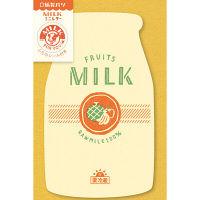 古川紙工 紙製パン MILKミニレター フルーツ LT282 1セット(5袋)(直送品)