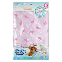 ひえひえジェルマット 犬・猫用 抗菌 Sサイズ ピンク 1個 ペッツルート
