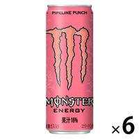 アサヒ飲料 モンスター パイプラインパンチ 355ml 1セット(6缶)