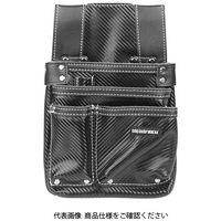 藤原産業 SK11 カーボンレザー釘袋 SK-CLKブラック 1個(直送品)
