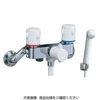 LIXIL(リクシル) 2ハンドルシャワー水栓 スプレーシャワー BF-M205H 1個 (直送品)