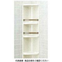 LIXIL(リクシル) 浴室収納棚(隅付) YR-312/L52 1個(直送品)