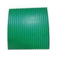 ヨツギ YOTSUGI 耐電ゴム板 緑色 B山 6T×1M×1M YS-231-02-04 1m 466-6666 (直送品)