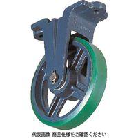 京町産業車輌 京町 ダクタイル製金具付ウレタン車輪100MM FU-100 1個 458-4228(直送品)