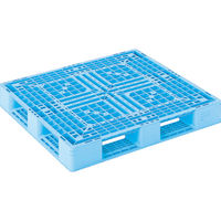 サンコー プラスチックパレット 815406 D4-1112-3青 SK-D4-1112-3-BL 459-4037(直送品)