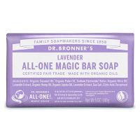 ドクターブロナー マジックソープバー(magic soap) 石鹸 ラベンダー 140g ネイチャーズウェイ