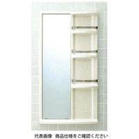 LIXIL(リクシル) 浴室収納棚 鏡付(平付) YR-612G/L52 1個(直送品)