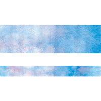 包む デザイン養生テープ ブルーウォーター 25mm 9-101-0 1セット(3個)(直送品)