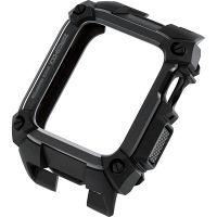 エレコム Apple Watch 40mm/ZEROSHOCKケース/ブラック AW-40ZEROBK 1個(直送品)