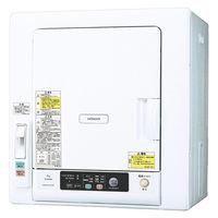 日立 衣類乾燥機 6kg ヒーター&風乾燥 DE-N60WV W 1台 HITACHI