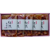 沖縄県物産公社 紅豚 豚肉 味噌漬け5枚入(600g) GA-1 okinawa-123(直送品)