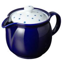 【アウトレット】SSナイスポット 瑠璃豆しぼり (蓋、波佐見焼・ガラス、中国) 42563 1個 西海陶器